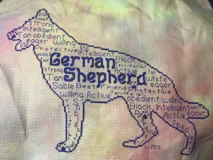 German Shepherd In Words